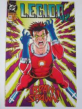 "Legion of Superheroes #44 (DC 1992) Signed by Matt ""Batt"" Banning (1st Work)"