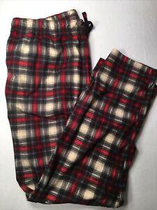 Nautica Men's Fleece Pant Sleepwear Super Soft Drawstring Waist