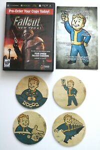 Fallout New Vegas - K-Mart Pre Order Coaster set - Sealed Rare 2010 Promo