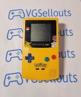 Nintendo Game Boy Color Pokemon Edition Handheld System Reshelled FREE SHIPPING