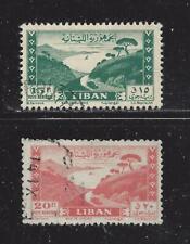 LEBANON  - C146-C147 - USED - 1949 - BAY OF JOUNIE
