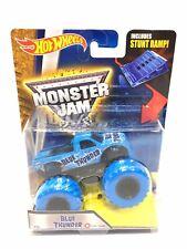 Hot Wheels Monster Jam Blue Thunder #24 Rare Blue Treads 2016 1:64