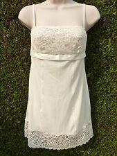 Nuisette ETAM lingerie Fatale bis ivoire 38 NEUF étiqueté Val :39,90€