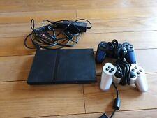 PlayStation2 Slim mit 2 Controllern! Funktionstüchtig!