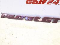ORIGINAL SCHRIFTZUG EMBLEM VW PASSAT GT G60 16V VR6 SYNCRO 35i PG