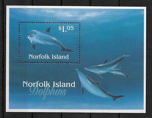 NORFOLK ISLAND *1997* S/Sheet * MNH** Dolphines - Mi. BL18