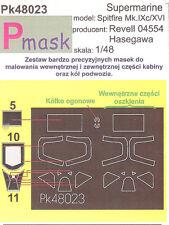 SPITFIRE MK 9 PAINTING MASK TO REVEL / HASEGAWA KIT #48023 1/48 PMASK
