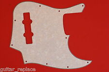 Golpeador Blanco Perlado Jazz Bass  3 Capas Pickguard  Salvapuas Scratchplate