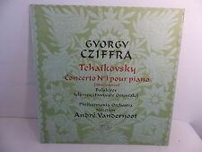 TCHAIKOVSKI Concerto n°1 pour piano CZIFFRA dir VANDERNOOT 610