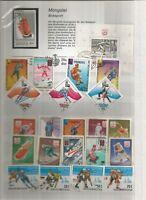 Winter Sport Briefmarken Stamps Sellos Timbres