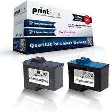 2x Cartuchos de tinta para Lexmark X5150 MAGENTA NEGRO CIAN AMARILLO ECO PRO