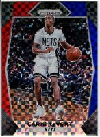 2017-18 Panini Prizm Basketball Caris LeVert SP RWB Prizm #157 Brooklyn Nets
