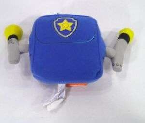 2015 BUILD A BEAR NICKELODEON PAW PATROL CHASE POLICE BLUE BACKPACK ACCESSORY