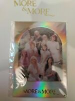 TWICE More & More - First Pressing Group Holo Photocard - Sealed