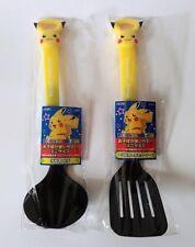 Pokemon Pikachu Kitchen tools Ladle-Spatula Set Genuine Product JAPAN