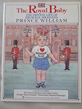 The Royal Baby Prince William Paper Doll Book,  1983, 1st Printing, UNCUT!!!