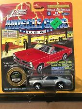 1/64 JOHNNY LIGHTNING MUSCLE CARS USA 1969 OLDSMOBILE 442 SILVER