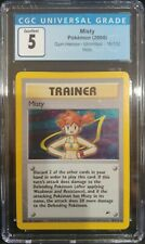 Misty 18/132 Gym Challenge Unlimited Holo Trainer CGC 5 Excellent Pokemon TCG