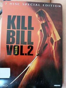 Kill Bill Vol. 2   Two Disc Special Edition Steelbook Dvd