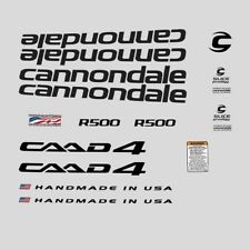 Cannondale R500 CAAD4 Bicycle Decals, Transfers, Stickers: n.2022
