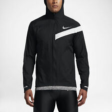 Nike Impossibly Light Hooded Mens Running Jacket. LARGE. Black, Packable. BNWT
