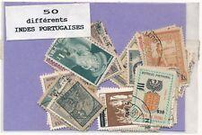 India Portuguesa    US  Paquete  50 sellos diferentes