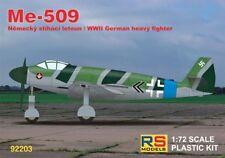 RS Models 1/72 Messerschmitt Me-509 # 92203*