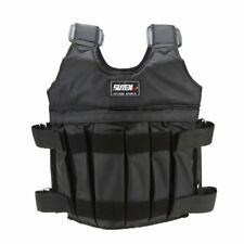 Max 50kg weight Weighted Vest Jacket boxing Invisible vest sand clothing (emp DA