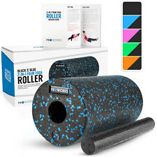 Foam Yoga Rollers Deep Tissue Gym Trigger Point Back Muscle Massage Exercises