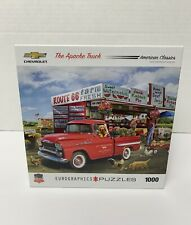 Eurographics Jigsaw Puzzle The Apache Truck '59 Chevy 1000 Pieces