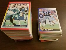 collection of 311 football cards score 1990&1991