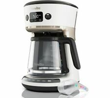 BREVILLE Mostra Easy Measure Filter Coffee Machine VCF116 - White - Currys
