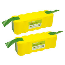 2×SC3500mAh 14.4V NiMh Vacuum Battery For iRobot Roomba 500 550 560 570 580 610
