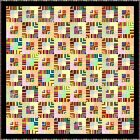 "JUMBALAYA - 70"" - Pre-cut Quilt Kit by Quilt-Addicts Double size"