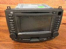 UNLOCKED OEM 2003-07 Cadillac CTS Navigation GPS Screen Radio 6 Disc CD Changer