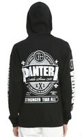 Pantera STRONGER THAN ALL Zip Up Hoodie Sweatshirt NEW 100% Authentic