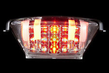 Hyosung GT650 GT250 Integrated LED Tail Light with  Blinker Turn Signals CleaR