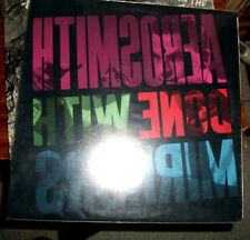 AEROSMITH DONE WITH MIRRORS  LP EXCELLENT CONDITION