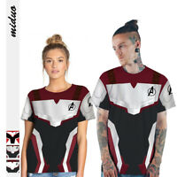 Avengers Endgame Quantum Realm Unisex Damen Herren T-Shirt Shirts Cosplay BC727
