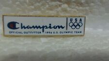 Champion Official Outfitter 1996 US Olympic Team Sponsor Collectible Pin pin3643