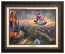 Thomas Kinkade Studios Aladdin Canvas Classic (Bronze Frame)