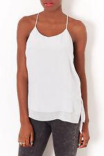 Topshop Hip Length Silk Classic Tops & Shirts for Women