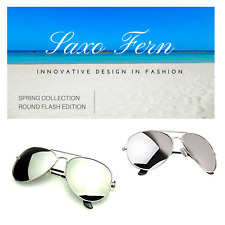 Silver Flash Avia style sunglasses - Free protective case included