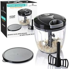 U.S. Kitchen Supply 4 Cup Instant Chopper Food Processor with Chopping ... , New