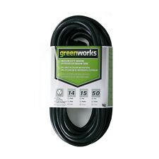 Greenworks ECOA010 Indoor/Outdoor Extension Cord, 50'