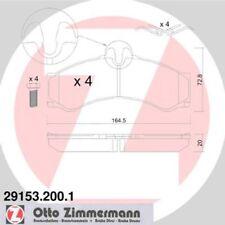 ZIMMERMANN Bremsbelagsatz 29153.200.1
