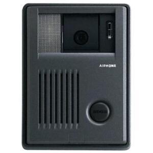 Video Door Station,12-3/8 AIPHONE KB-DAR Handset Video Intercom
