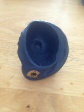 "VINTAGE ""ACTION MAN"" BLUE BERET WITH BADGE"