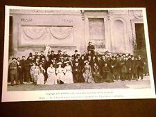 Roma nel 1903 100 anni dell'Accademia di Francia Notabilità colonia francese