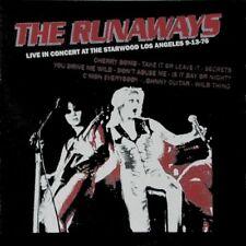 Runaways - Live at the Starwood LP 1976 - NEW SEALED LP Joan Jett, Lita Ford